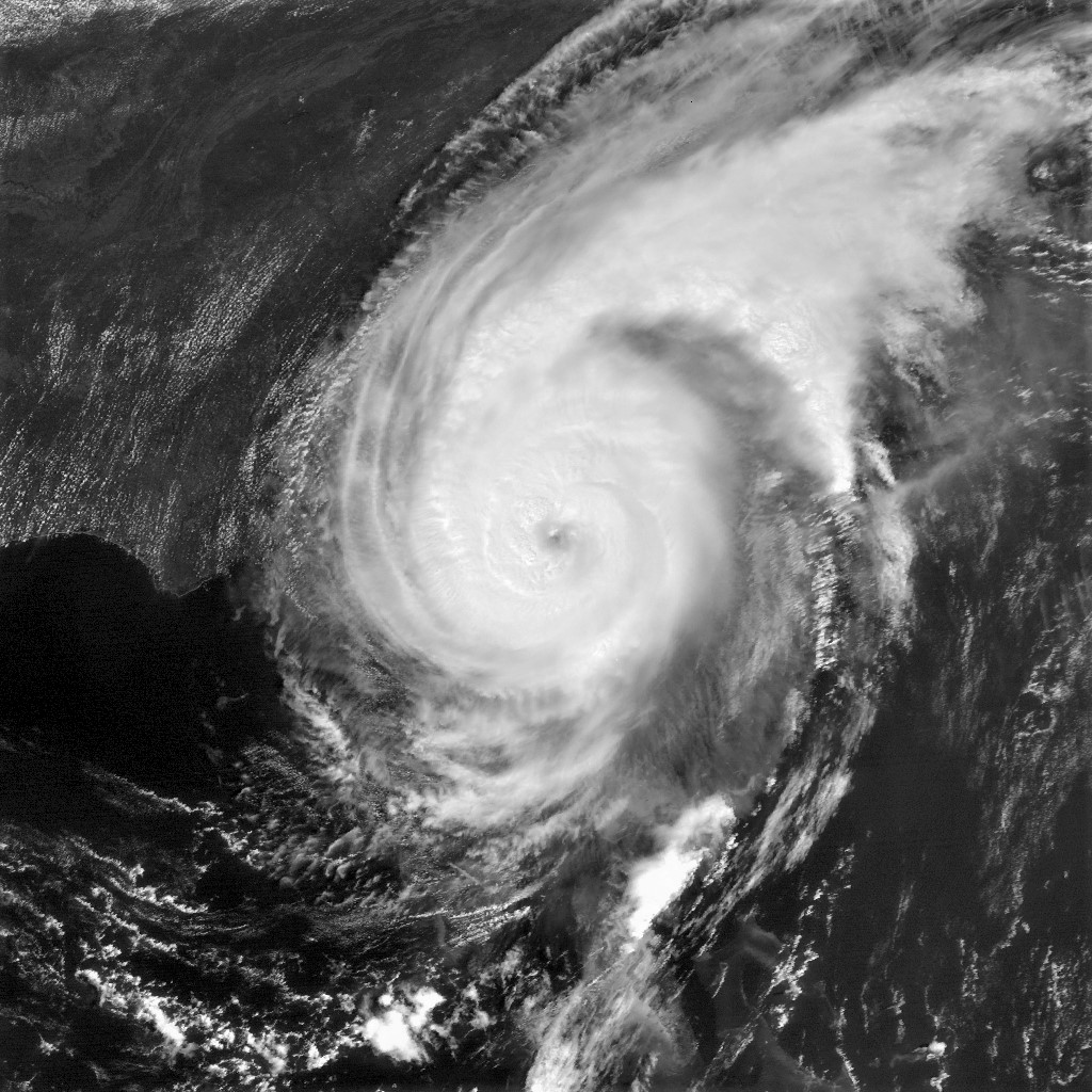 A United States Naval Research Laboratory photograph of Hurricane Dorian taken Sept. 2.