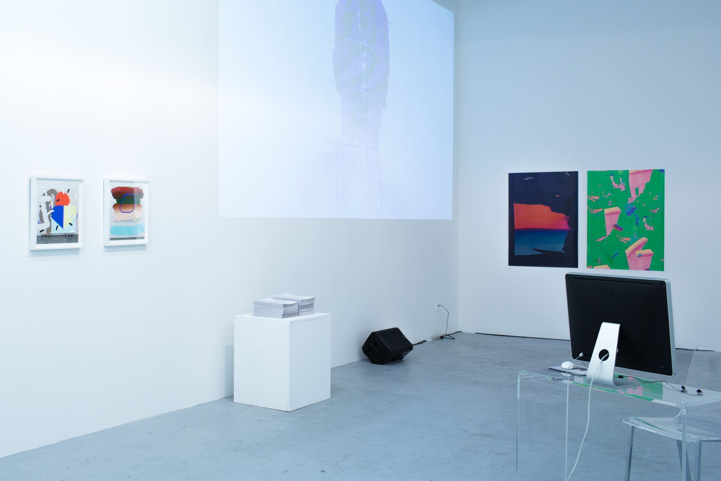 YOU ARE HERE: Installation View Left to right: Trudy Benson, #BEENTRILL#, Thomas Pregiato