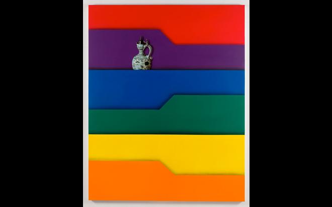 Friedrich Kunath,  Folder 6 (Vase)  , 2013-2014