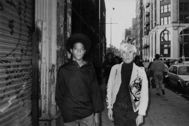 RICKY POWELL  Warhol / Basquiat , 1985