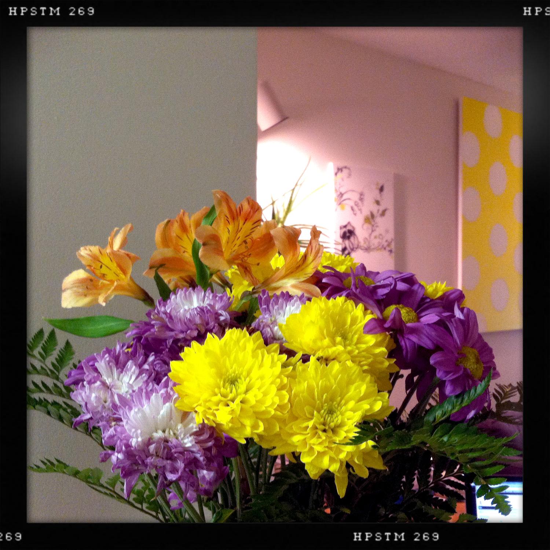 beautiful flowers from Anisha <3
