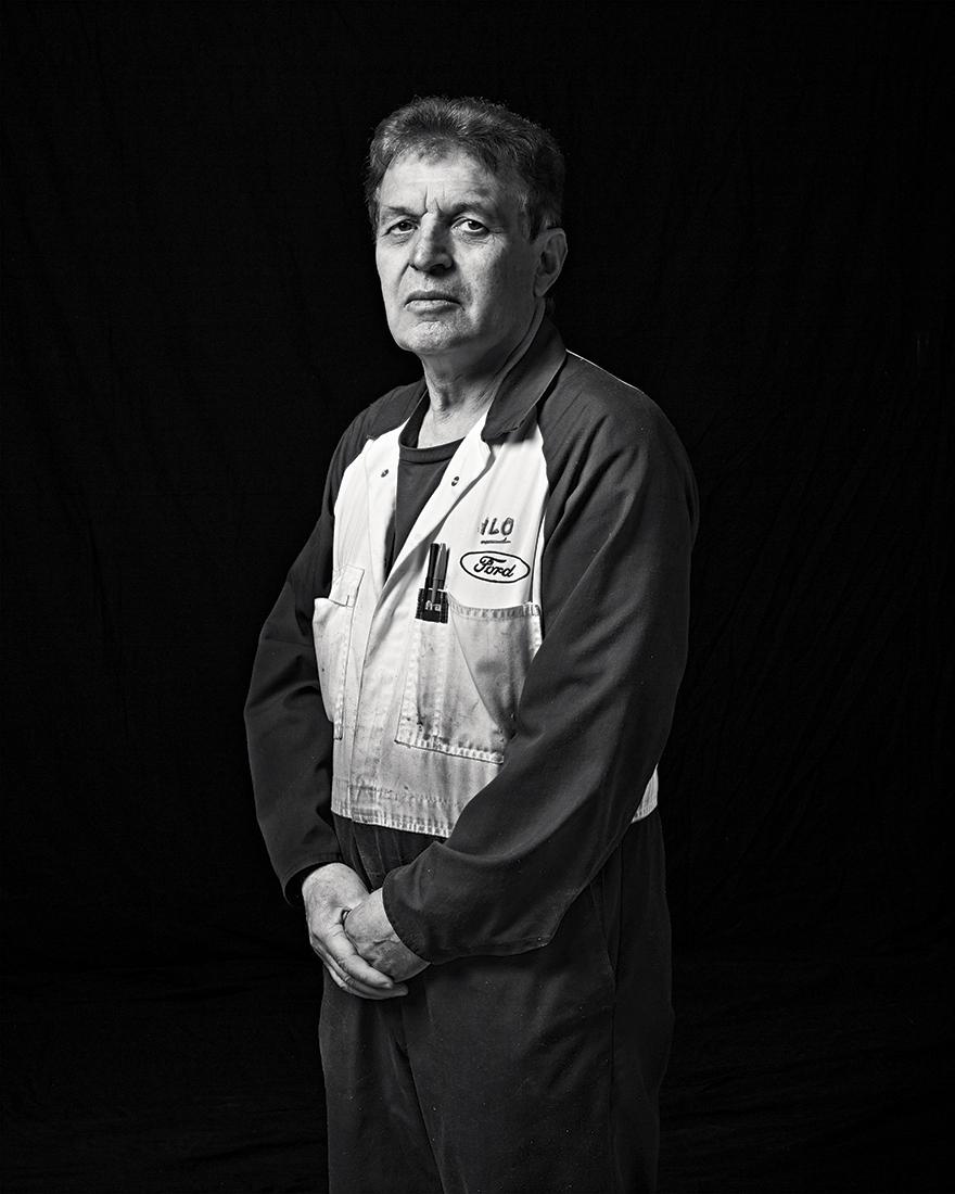 Ilo Najdanovski, Production Operator, Production Weld, Ford Motor Company, Geelong 2014