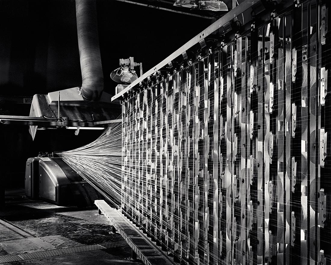 West Point Warper, Bruck Textiles, Wangaratta 2014