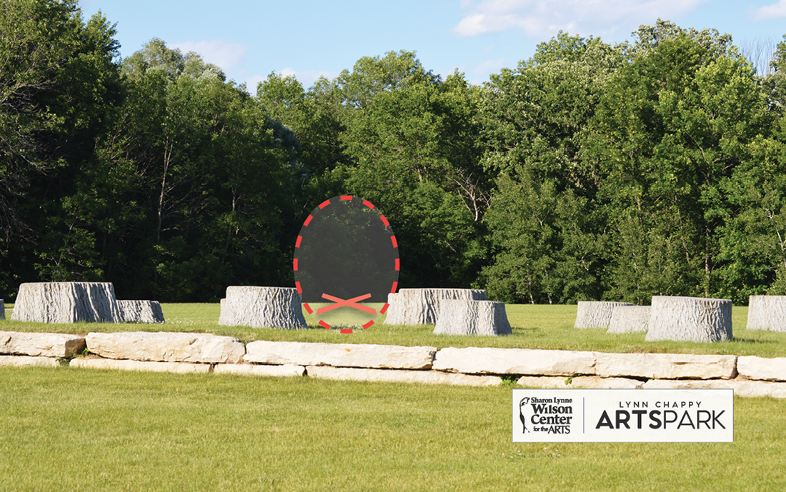 ArtsPark • Outdoor Theatre Sculpture Location