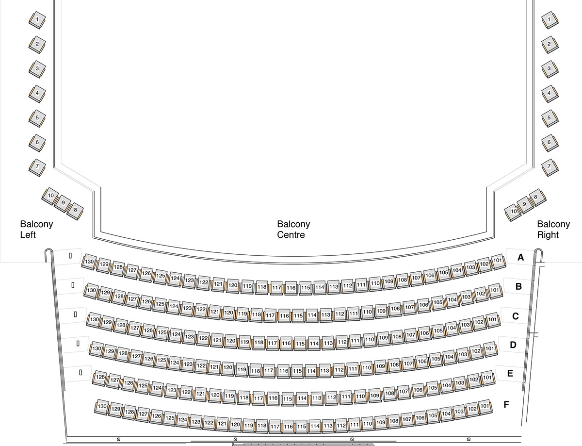 Seating Maps Sharon Lynne Wilson Center For The Arts