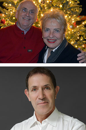 TOP PHOTO:  2019 EDDY AWARD RECIPIENTS DON AND KATE WILSON  BOTTOM PHOTO:  2019 EDUCATIONAL EXCELLENCE AWARD RECIPIENT MILWAUKEE BALLET ARTISTIC DIRECTOR MICHAEL PINK (PHOTO BY TIMOTHY O'DONNELL)