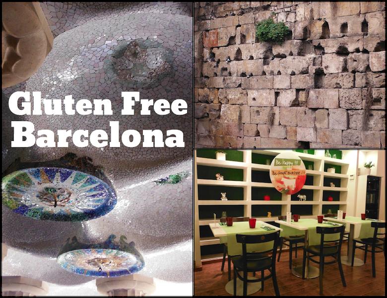 Gluten Free in Barcelona Spain