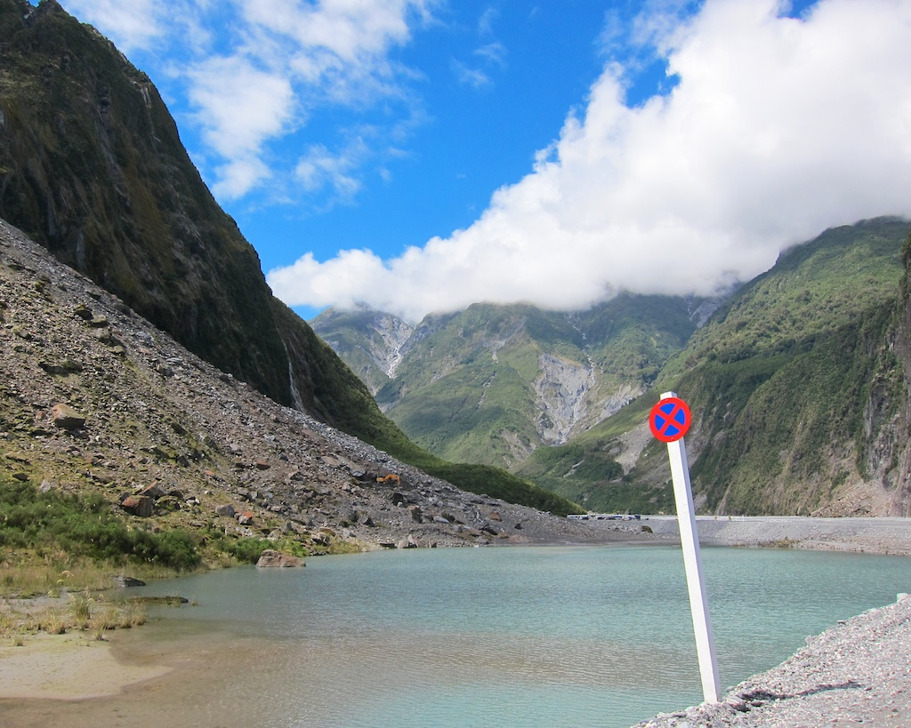 Visiting Fox Glacier New Zealand