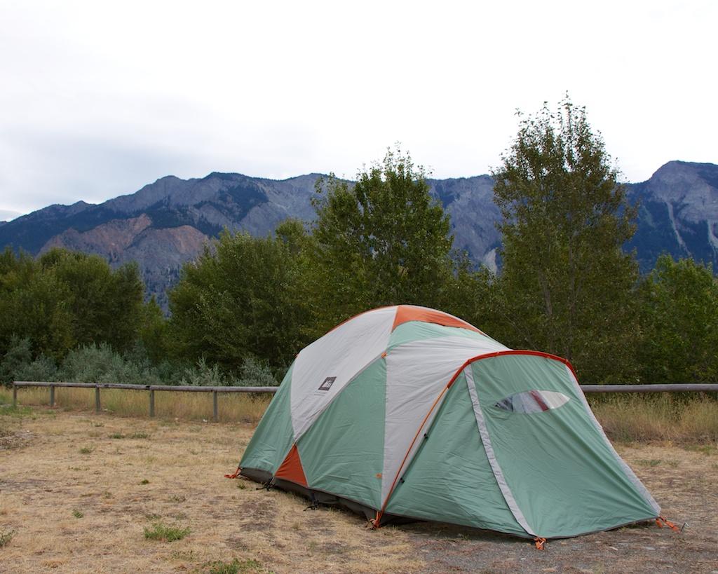 Lilooet Campsite www.glutenfreetravelette.com