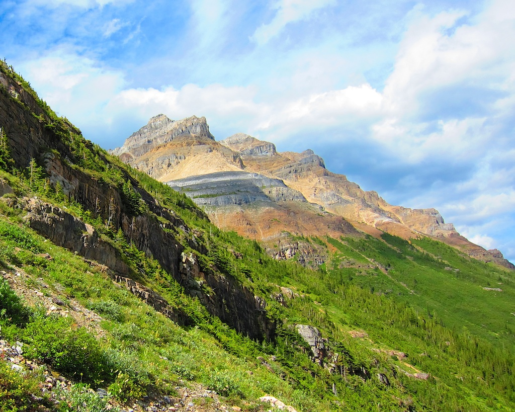 Camping Road Trip Itinerary Banff National Park Plain of Six Glaciers Hike