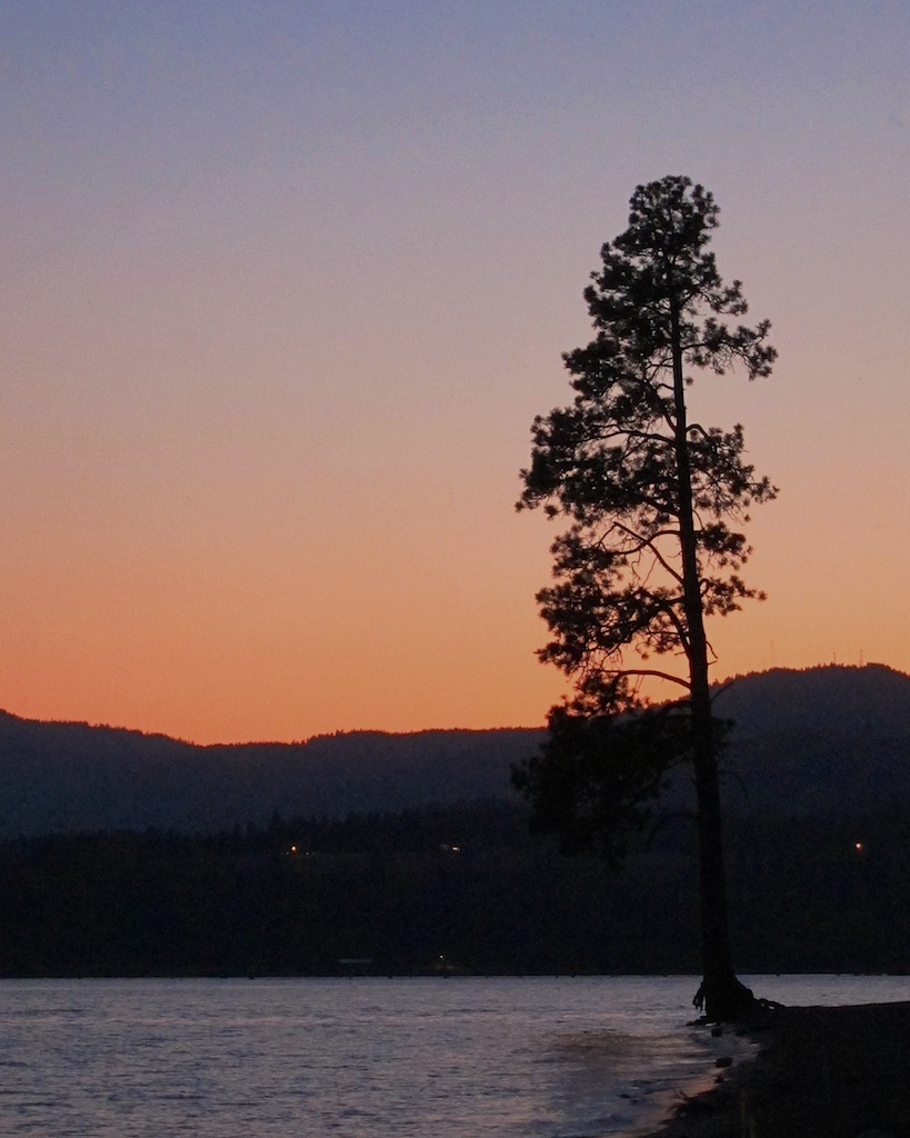 Camping Road Trip Itinerary Lake Coeur d'Alene