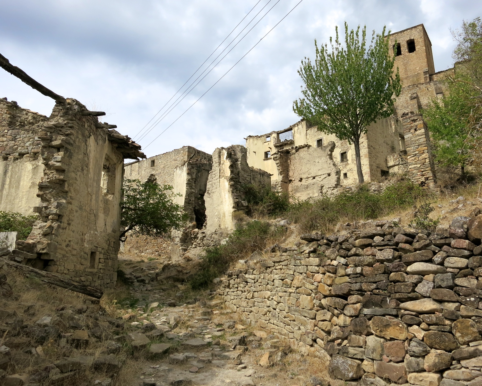 Esco, An Abandoned Village in Spain