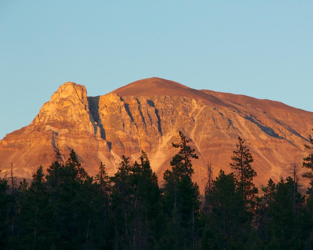 View from Wapiti Campground Jasper National Park www.glutenfreetravelette.com
