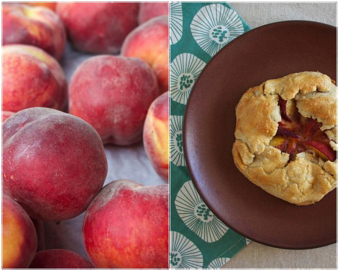 Rustic Peach and Honey Pie Gluten Free Refined Sugar Free