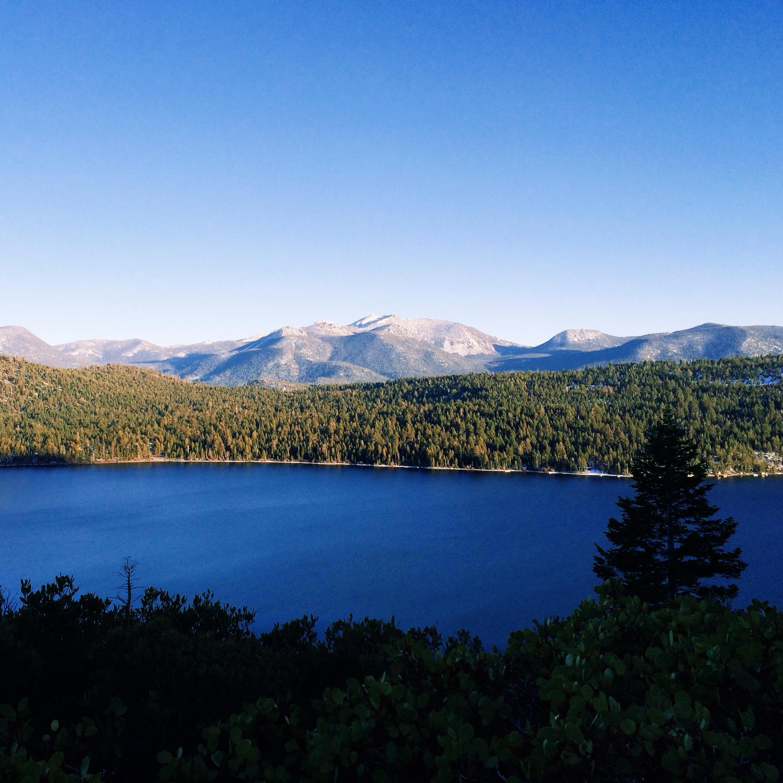 Fallen Leaf Lake Tahoe California