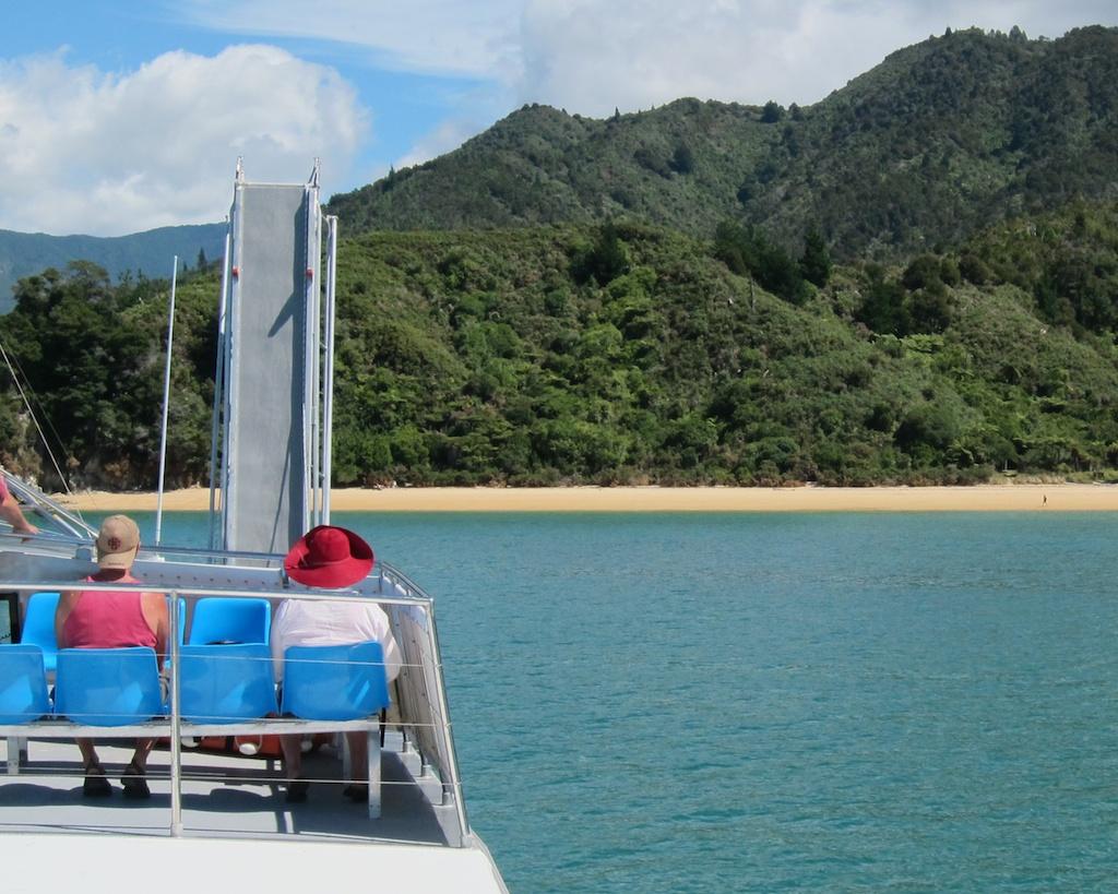Water Taxi, Abel Tasman National Park, New Zealand