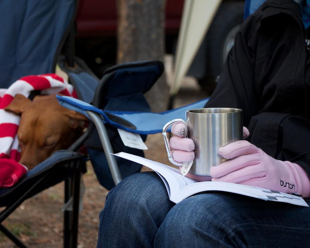 Tea While Camping