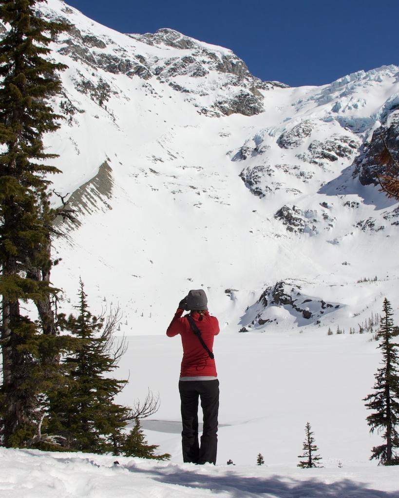 Joffre Lakes Provincial Park - Upper Lake