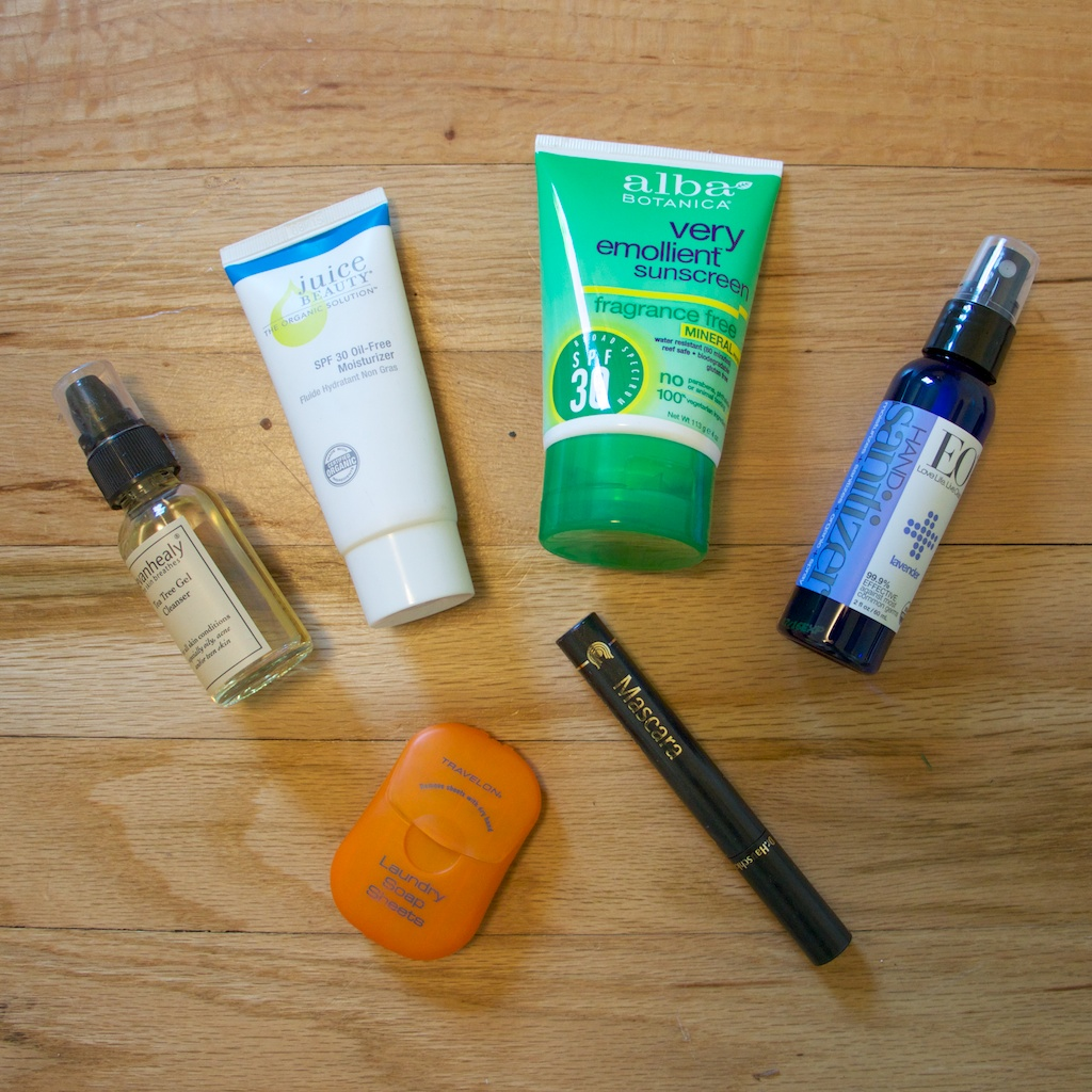 Travel Personal Items