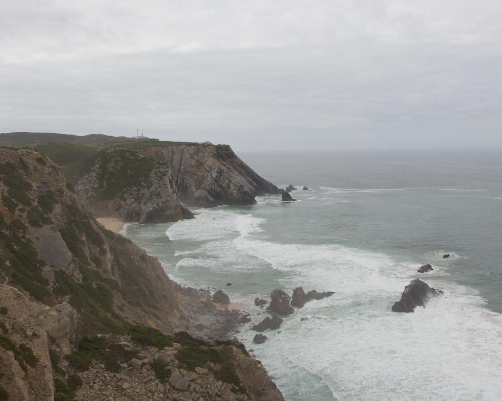 Cliffs Around Praia Grande Portugal