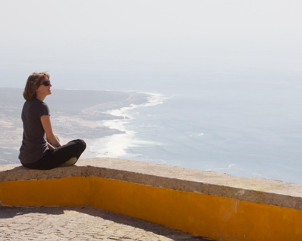 Seek Solitude - Enjoying Peninha in Portugal - PHOTO BY FUGUE PHOTO