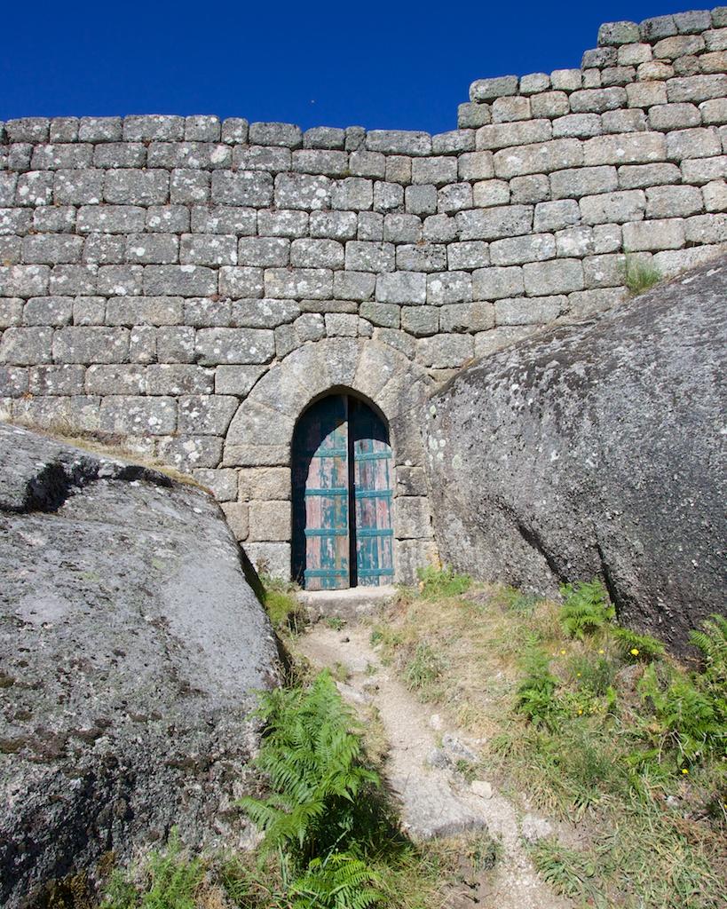 Castle of Castro Laboreiro in Parque Nacional Penada - Gerês