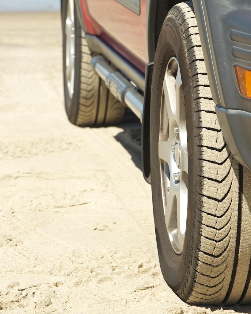 My Honda CRV on Cape Kiwanda