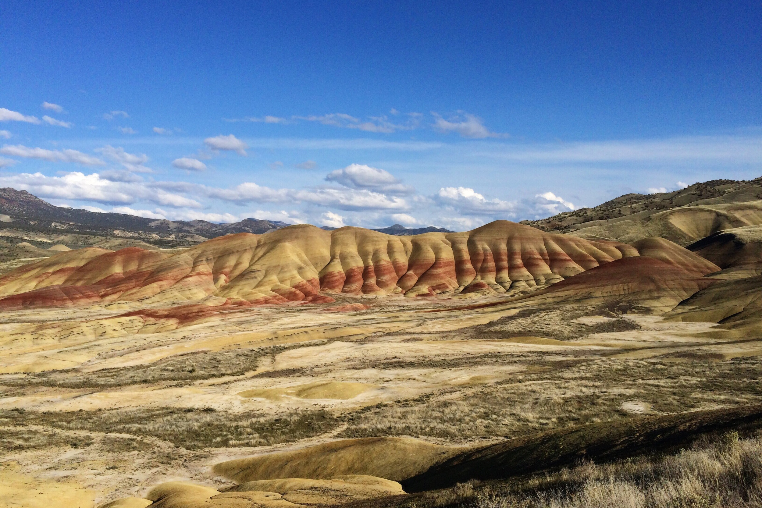 PAINTED HILLS UNIT OF THE JOHN DAY FOSSIL BEDS NATIONAL MONUMENT