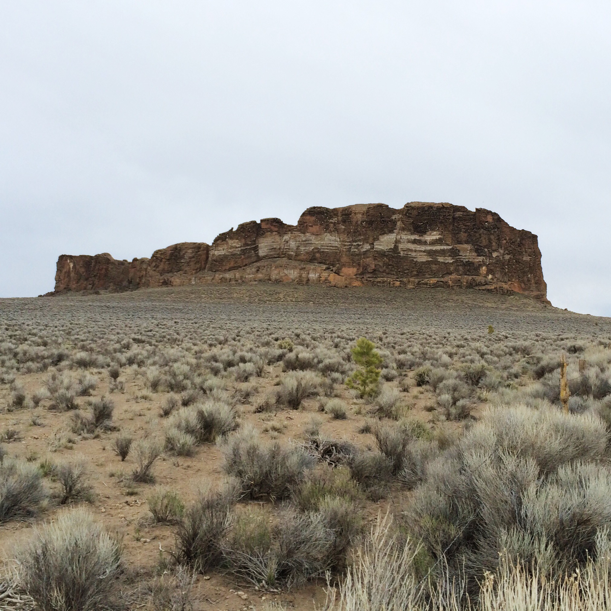 Fort Rock in the Oregon Outback