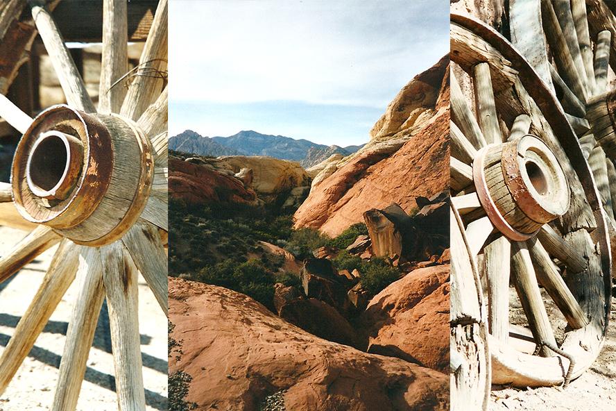 Calico, California and Red Rocks, Nevada