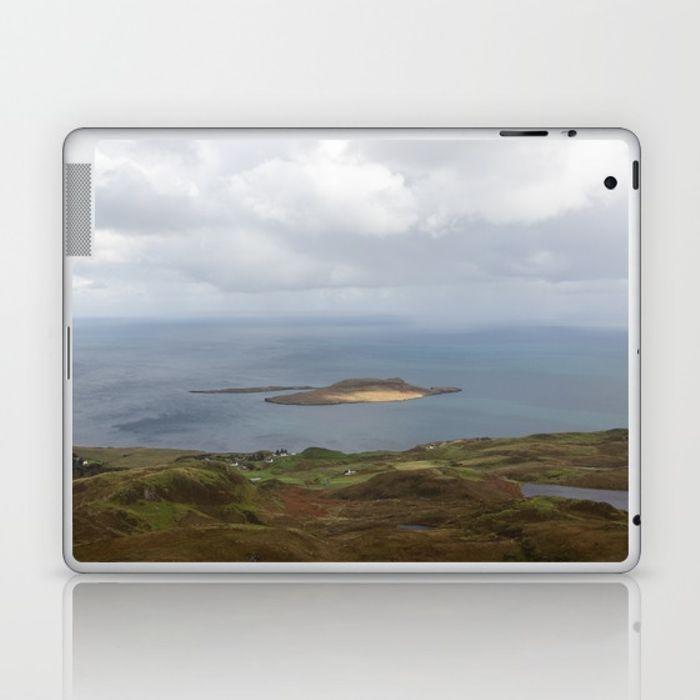 Lone Isle Laptop Skin