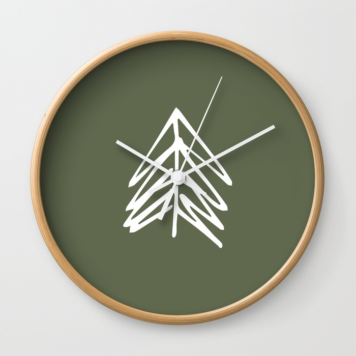 AMC_Society6_PNWEvergreens_Clock.jpg