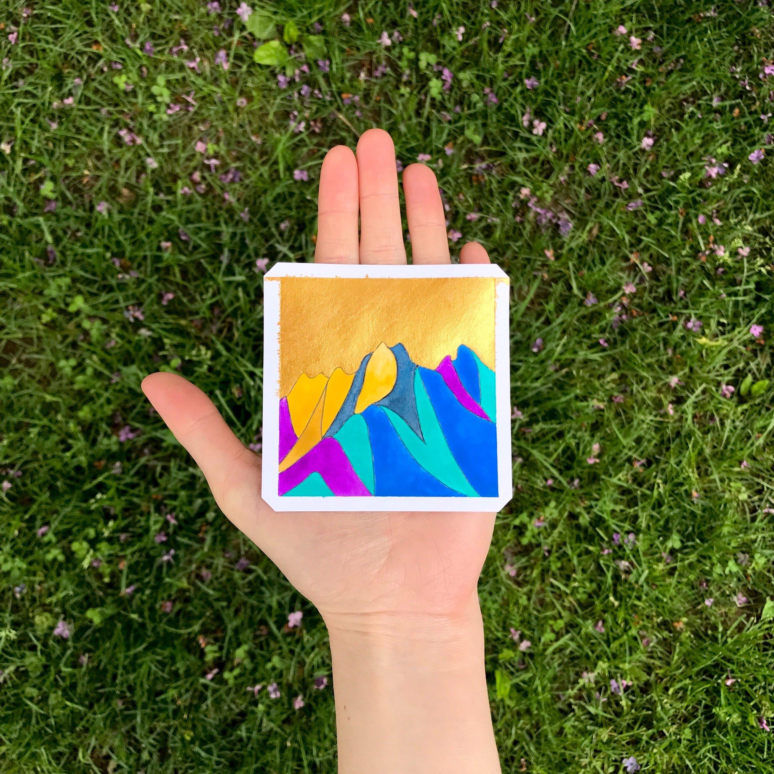 Imaginary Mountains III (Sold)