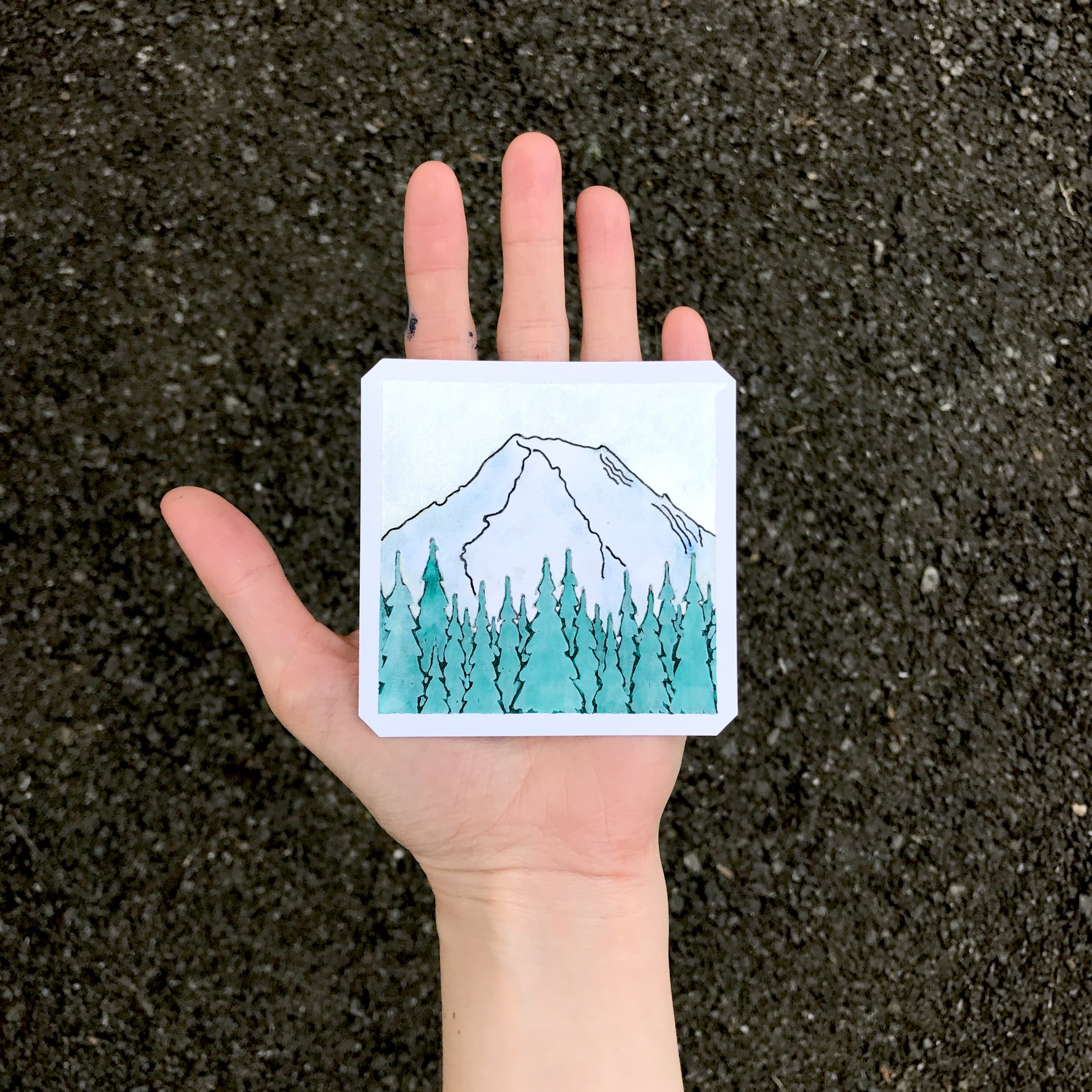 Mount Rainer (Sold)