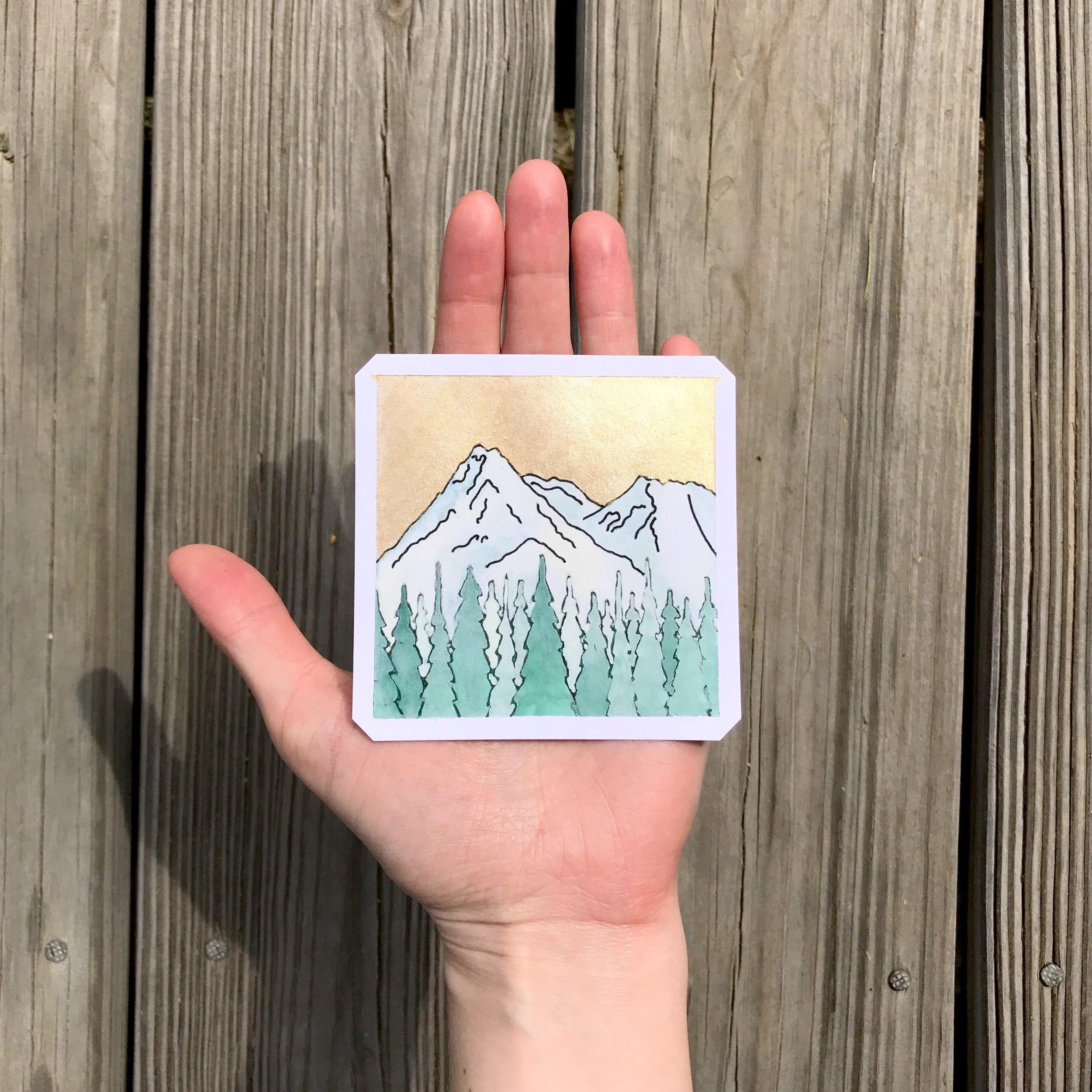 Mount Shasta (Sold)