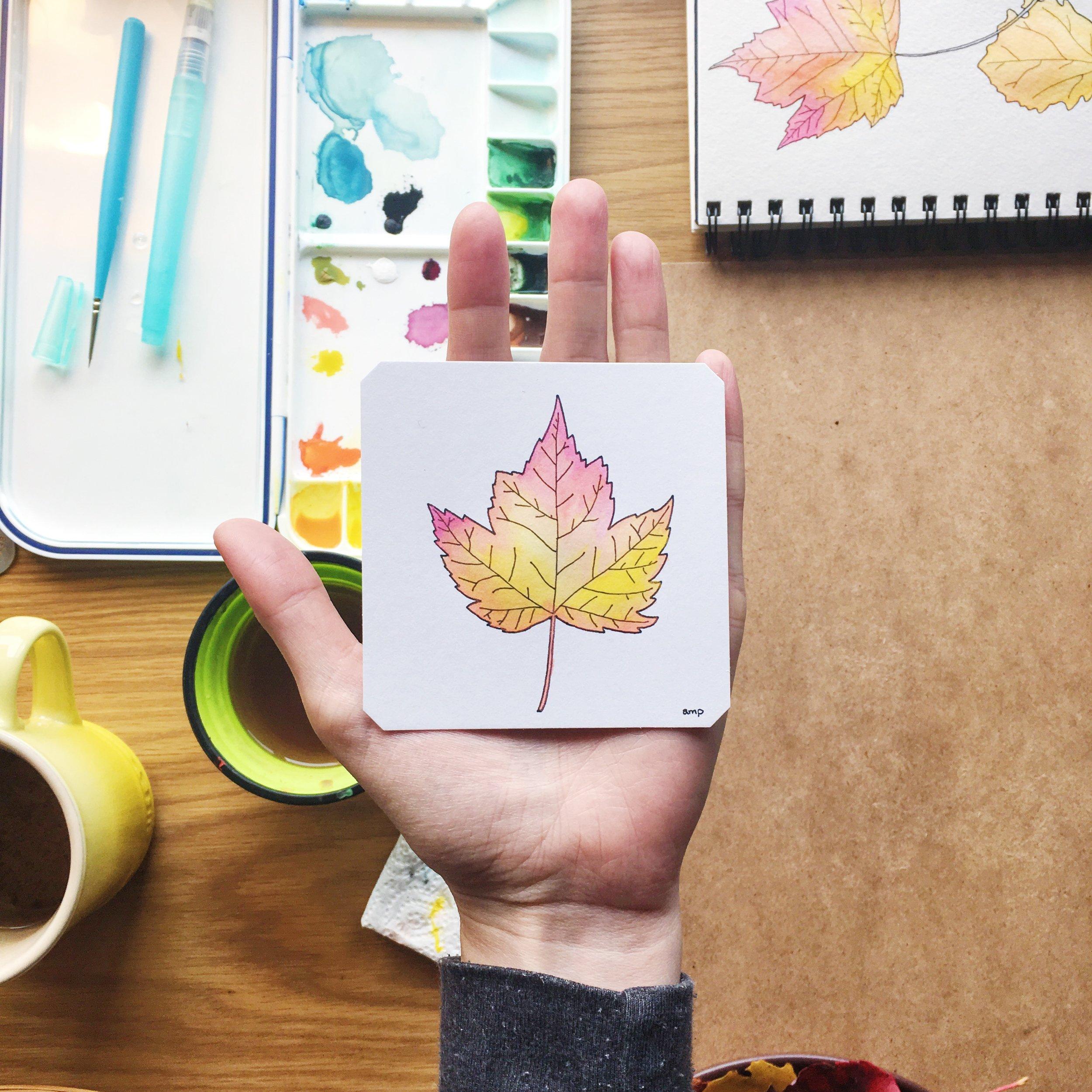 Autumn Leaf III (Sold)