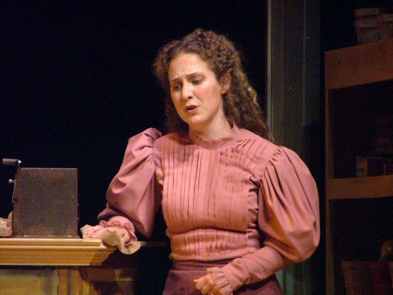 Nancy (Albert Herring) at the University of North Texas