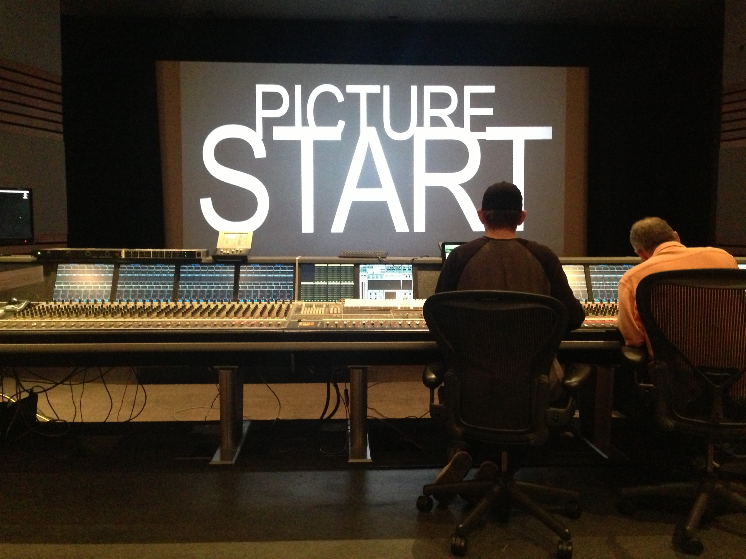 Sound Mixing  Revelations  at Wildfire Studios, Los Angeles