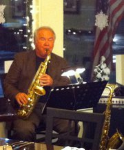 Terry Steele performing as part of our live entertainment at Nonni's Corner Trattoria.