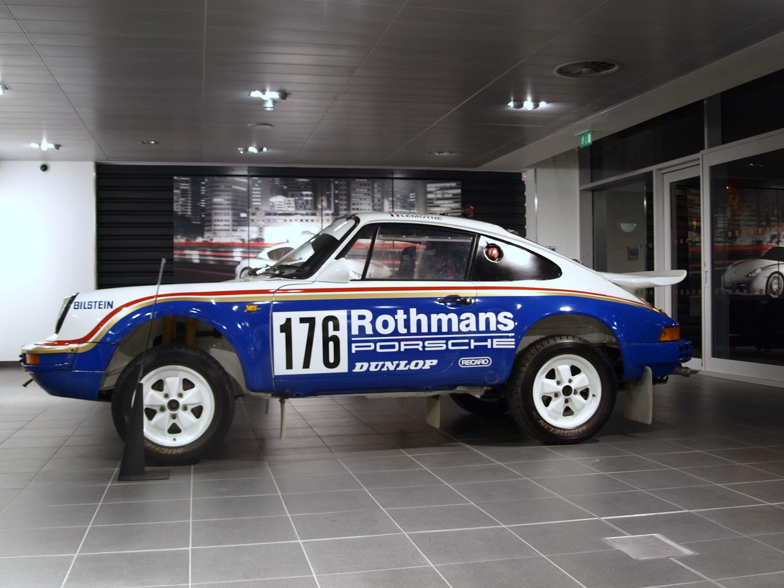 Porsche Museum's Paris-Dakar winning Type 953