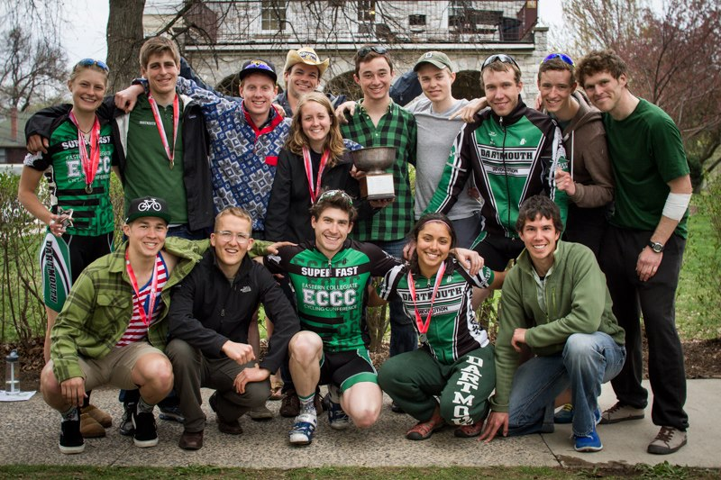 Dartmouth College winning the coveted Ivy League Cup in 2014.