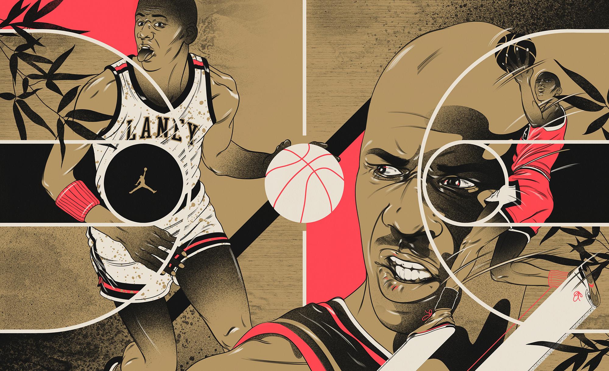 Jordan — Basketball Court
