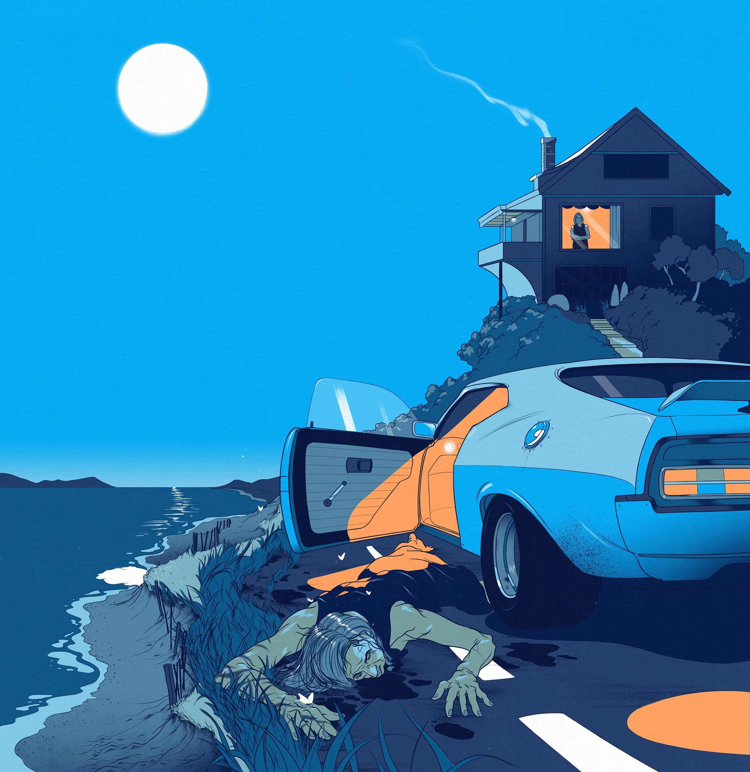 Cosmos — Short Story Illustration