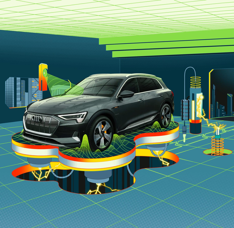 Audi e-tron — Superhero Lair