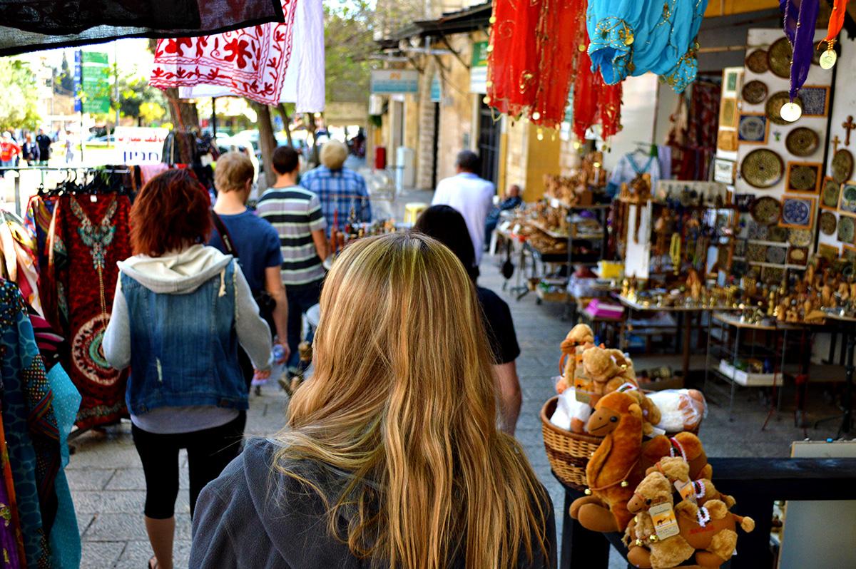 Walking through Nazareth
