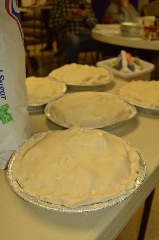 Homemade Apple Pie - Yum!