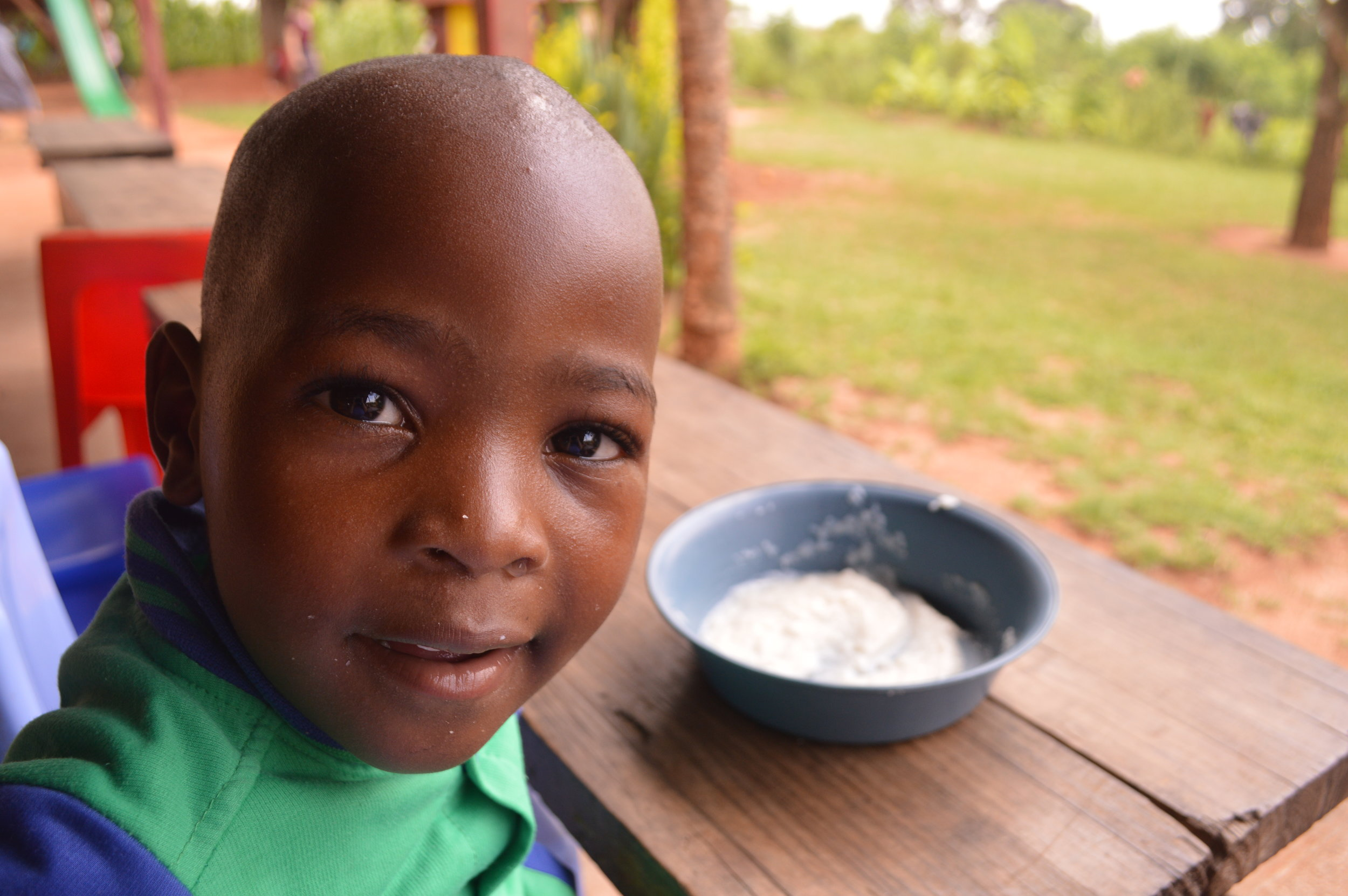 One of our precious lil friends from Lula Orphan Center