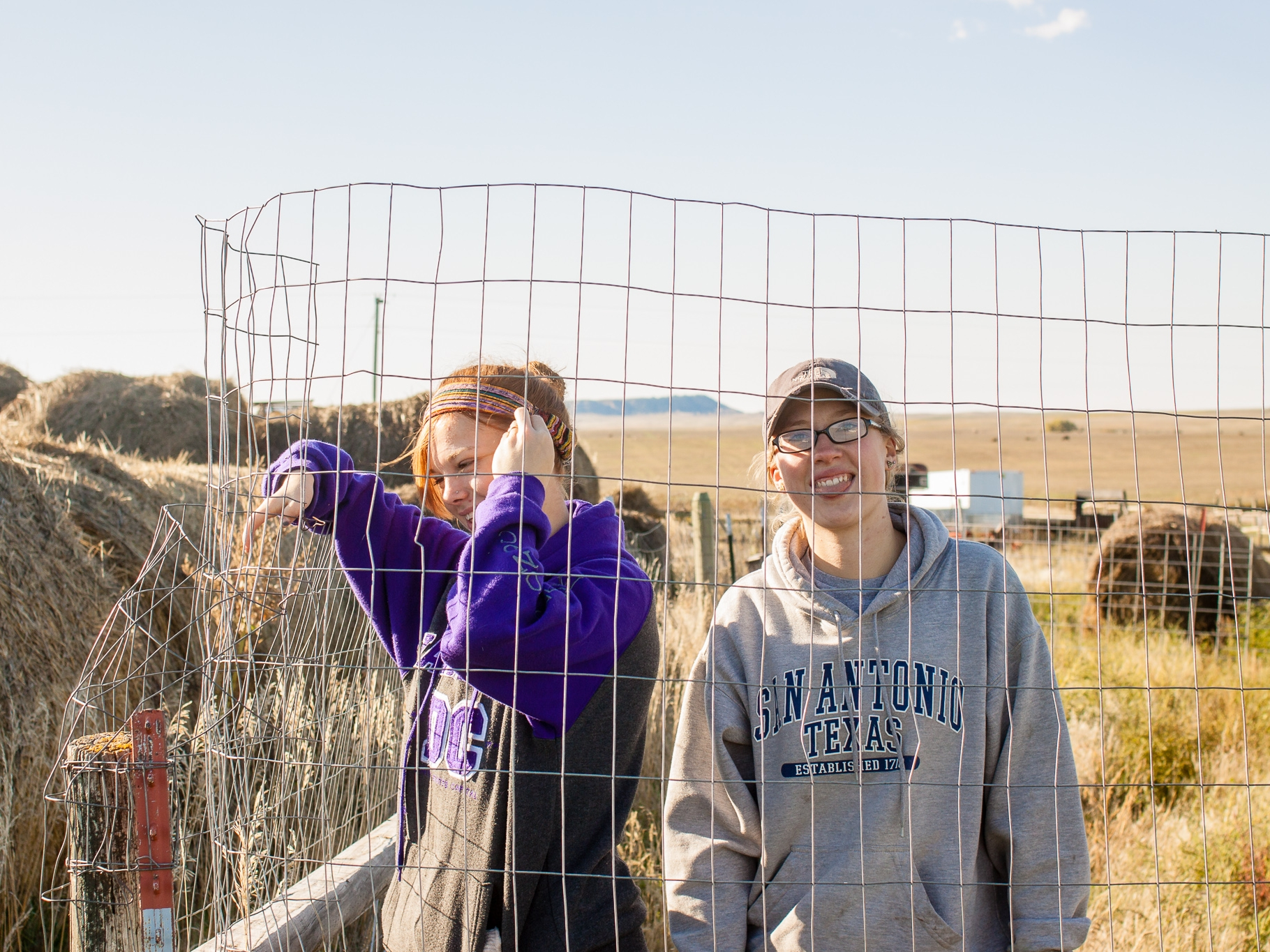 """""""Pine Ridge Reservation has significantly changed my outlook on life. I learned life skills along with how to perform basic tasks on a ranch. Along with building relationships with children, my heart has grown for them more. Our team bonded and grew together as a family.""""  - MEREDITH -"""