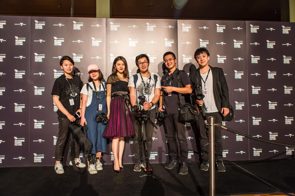 Former Student LU YI (third from left) is Founder & Executive Director at LUYI Studio