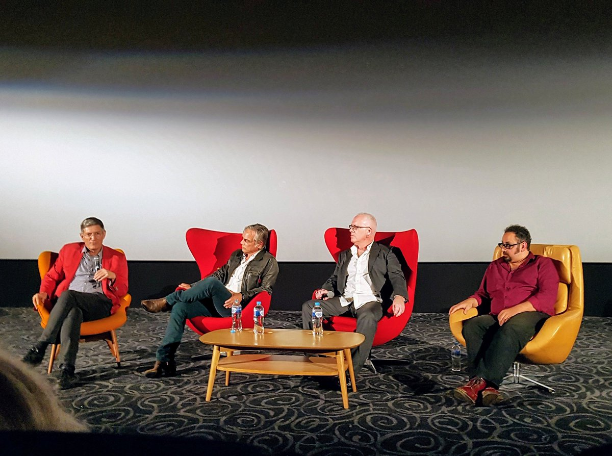 Former student Jonathan Sequeira (first on right) is the director of feature documentary film 'Descent into the Maelstrom: The Untold Story of Radio Birdman'